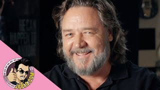 """Joblo.com presents a sit down with russell crowe, who talks about his starring role as """"the man"""" in the new thriller unhinged, which is set to be first n..."""