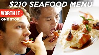 Download $210 7-Course Seafood Dinner Mp3 and Videos