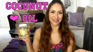 Current Obsession: COCONUT OIL!