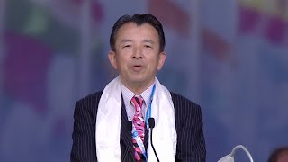 Tetsuhiro Aoyame Yosef (Japan) at Jalsa Salana UK 2016
