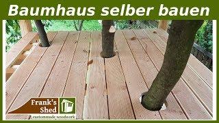 Baumhaus / Spielhaus selber bauen | Anleitung & Tipps | kreatives Garten Projekt | 🔥 Franks Shed 🔥