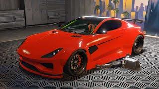 DEWBAUCHEE SPECTER CUSTOM HIDDEN UNRELEASED CAR CUSTOMIZATION - GTA 5 ONLINE IMPORT/EXPORT DLC
