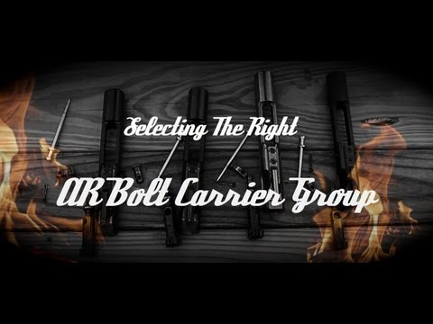 AR-15 Bolt Carrier Group (BCG) Buyers Guide: Treatments, Materials, & Specs