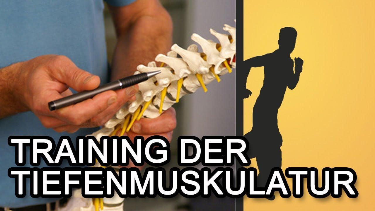 Training der Tiefenmuskulatur für einen starken Rücken! - YouTube