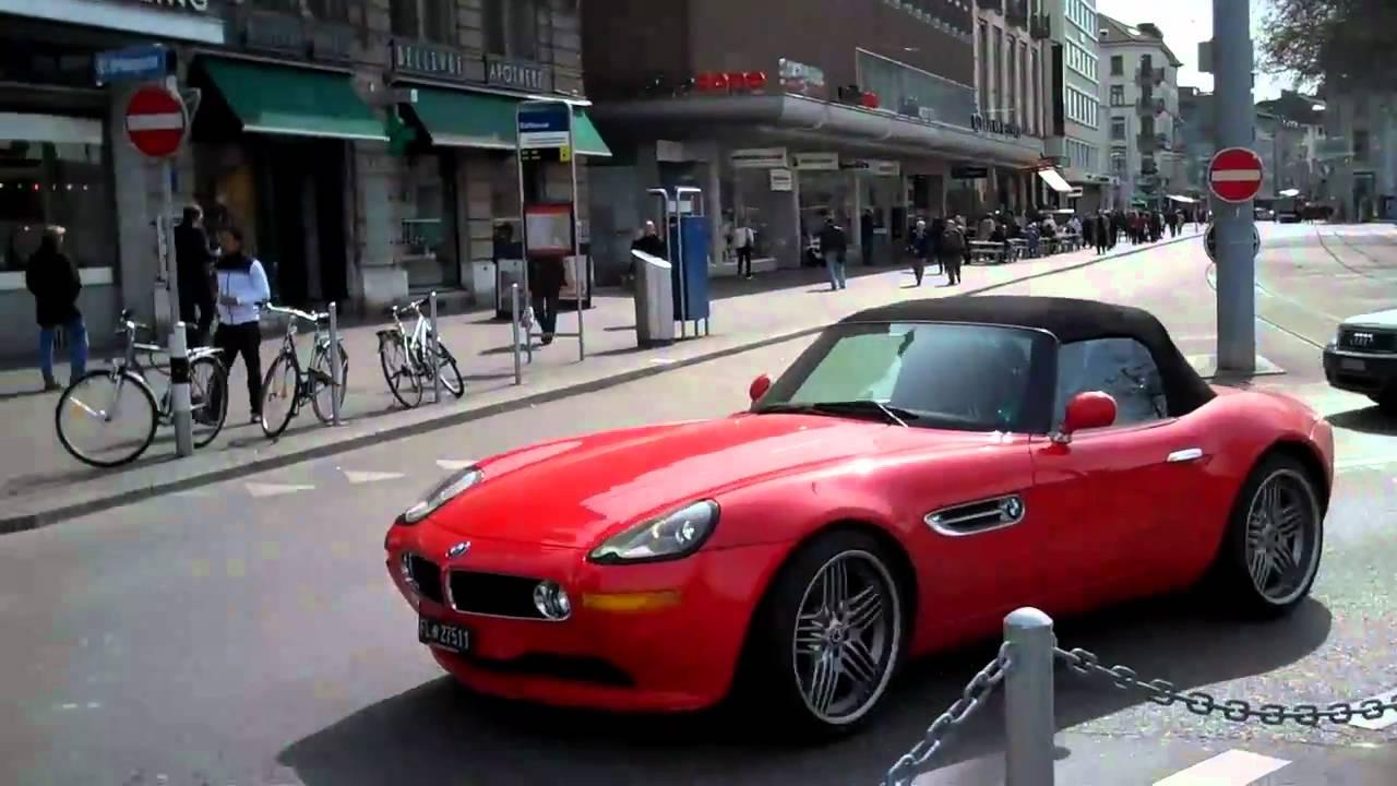 Red BMW Z Alpina Drive By YouTube - Bmw z8 alpina