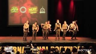 Dance Republic | 11º Lugar Divisão Varsity @ Hip Hop International Portugal 2015 | Finais