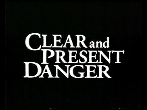 Download Stan zagrożenia (1994) (Clear and Present Danger) zwiastun VHS