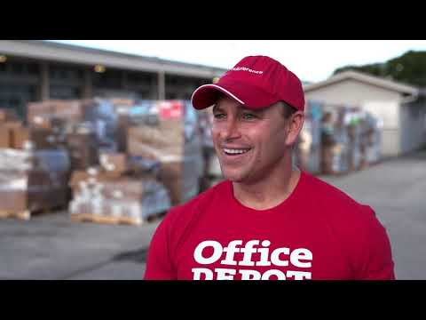 Office Depot Donates Supplies To South Florida Schools