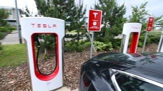 Long day driving my Tesla