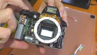 Тёмные снимки / Не работает диафрагма на зеркалке Nikon D3000