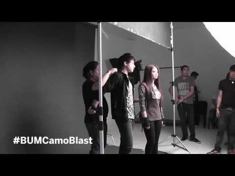 BUM CamoBlast Behind The Shoot