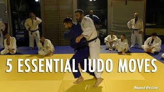 5 ESSENTIAL JUDO MOVES