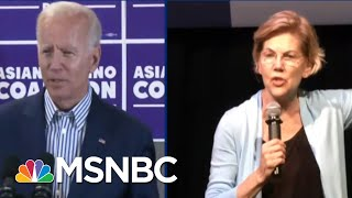 Warren Takes On Joe Biden For The First Time In Dem Debate | The Beat With Ari Melber | MSNBC