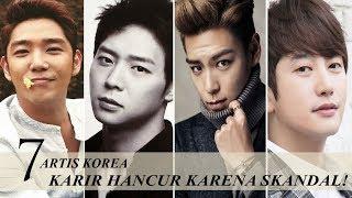 7 Artis Korea Yang Karirnya Hancur Saat Sedang Naik Daun!