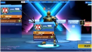 *NEW* LEVEL 100 REWARDS in SEASON X! UNLOCKING SECRET REWARDS in Fortnite! (Fortnite Battle Royale)