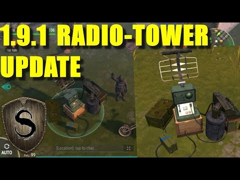 Radio Tower, battery hunting (Last day on Earth: Survival)
