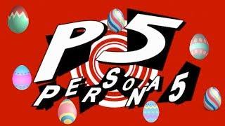 Persona 5 Easter Eggs- Kanami, Rise (Marakyu Tofu), Yukari, Chie, Akihiko, Katsuya, Adachi, & Teddie