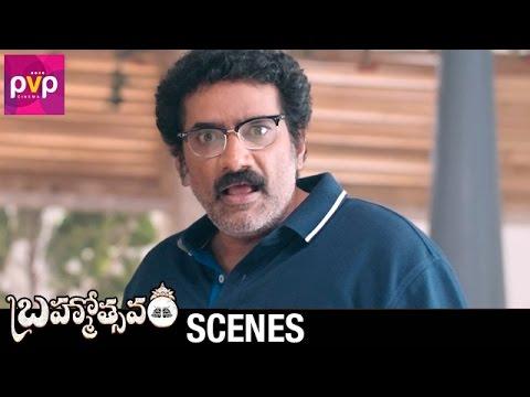 Rao Ramesh Best Scene | Brahmotsavam Movie | Mahesh Babu | Samantha | Pranitha | Kajal Aggarwal