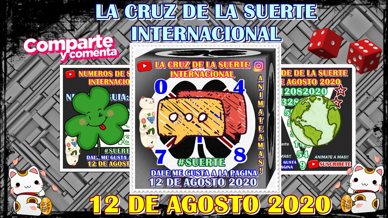 Cruz!! 12 de Agosto 2020  - la cruz de la suerte