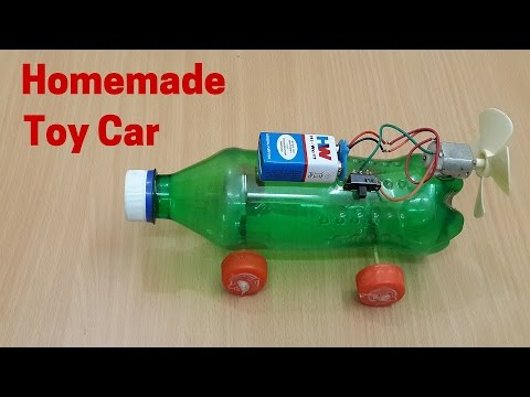 How to Make a Homemade Electric Toy Car Using Plastic