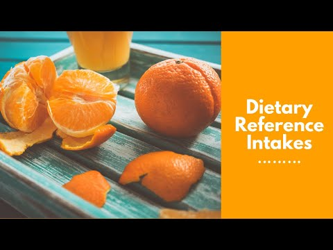 Understanding Dietary Reference Intakes