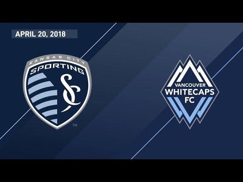 HIGHLIGHTS: Sporting Kansas CIty vs. Vancouver Whitecaps | April 20, 2018