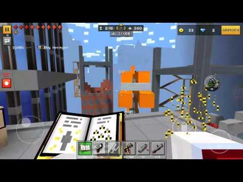 Pixel Gun  3D (Bee Swarm Spell OWNAGE)
