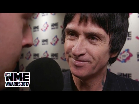 Johnny Marr discusses his next album at the VO5 NME Awards 2017