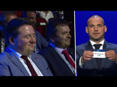 Slavia Prague Burst Out Laughing After Being Drawn In Group Of Death With Barca, Dortmund, And Inter