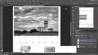 Making An Easy Photo Calendar in Photoshop(Eric Renno demonstrates how to make a simple, personal calendar in Photoshop. Eric is just one of the Photoshop Nuts writing FREE tutorials at ..., 2012-11-02T11:51:28.000Z)