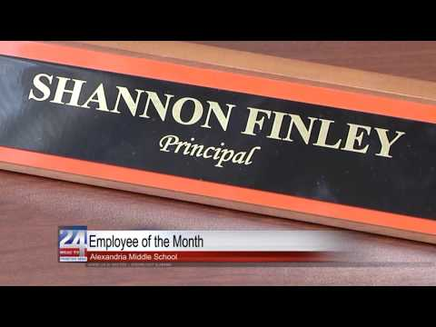 Alexandria Middle School Principal Named July Employee of The Month