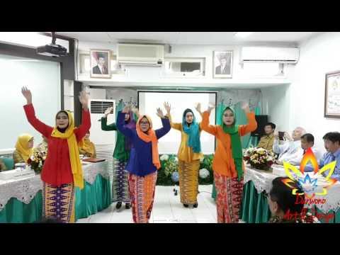 Senam Cuci tangan dan Senam Cerdik Puskesmas Kecamatan Duren Sawit