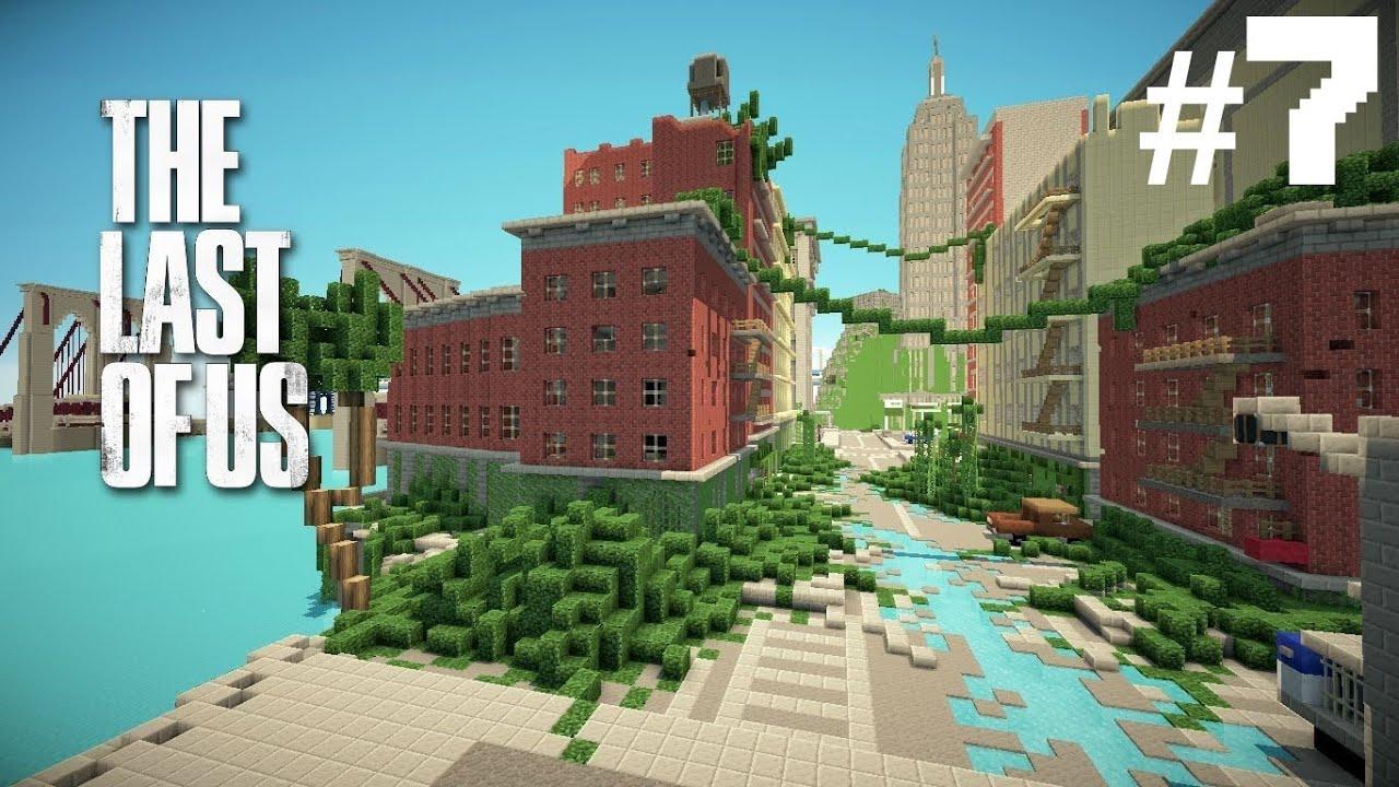 Скачать карту для майнкрафт 1.7.10 на красивый город
