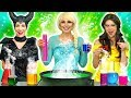 DISNEY PRINCESS SCIENCE CLASS. (What Happens to Elsa, Ariel, Belle, Jasmine and Maleficent?)