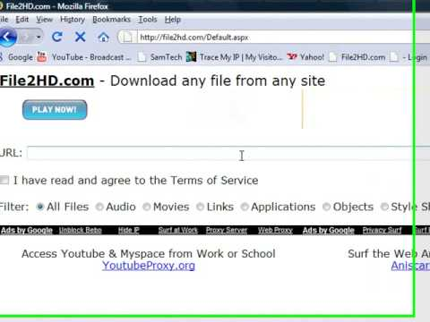 How to download music from myspace.com