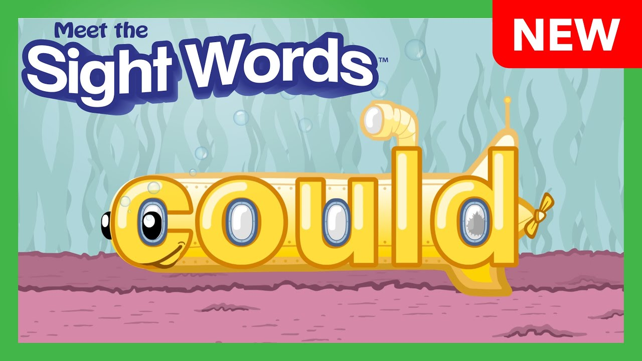 "NEW! Meet the Sight Words - ""could"""