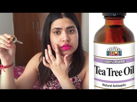 Top 10 ways to use TEA TREE OIL & benefits for acne / face / hair / skin / body | टी ट्री ऑयल