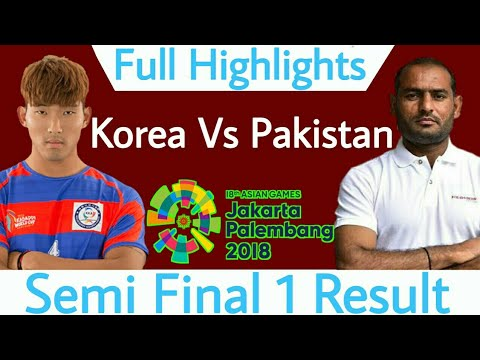 Asian Games 2018 Semi Final 1 South Korea Vs Pakistan Full Highlights