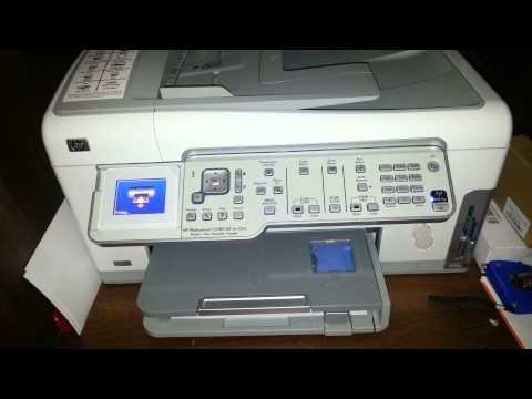 HP Photosmart C6180 C6100 Series Calibration Error SOLVED