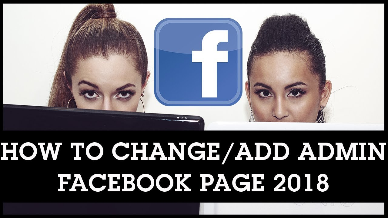 how to change page admin on facebook