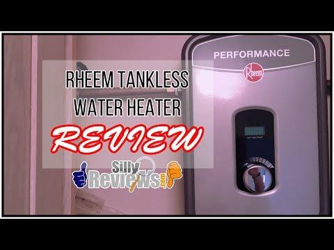 Rheem Tankless Water Heater Review Model No. RETEX-13