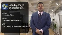 Dion Mahadeo - Mortgage Specialist - RBC - Investment Property Mortgages