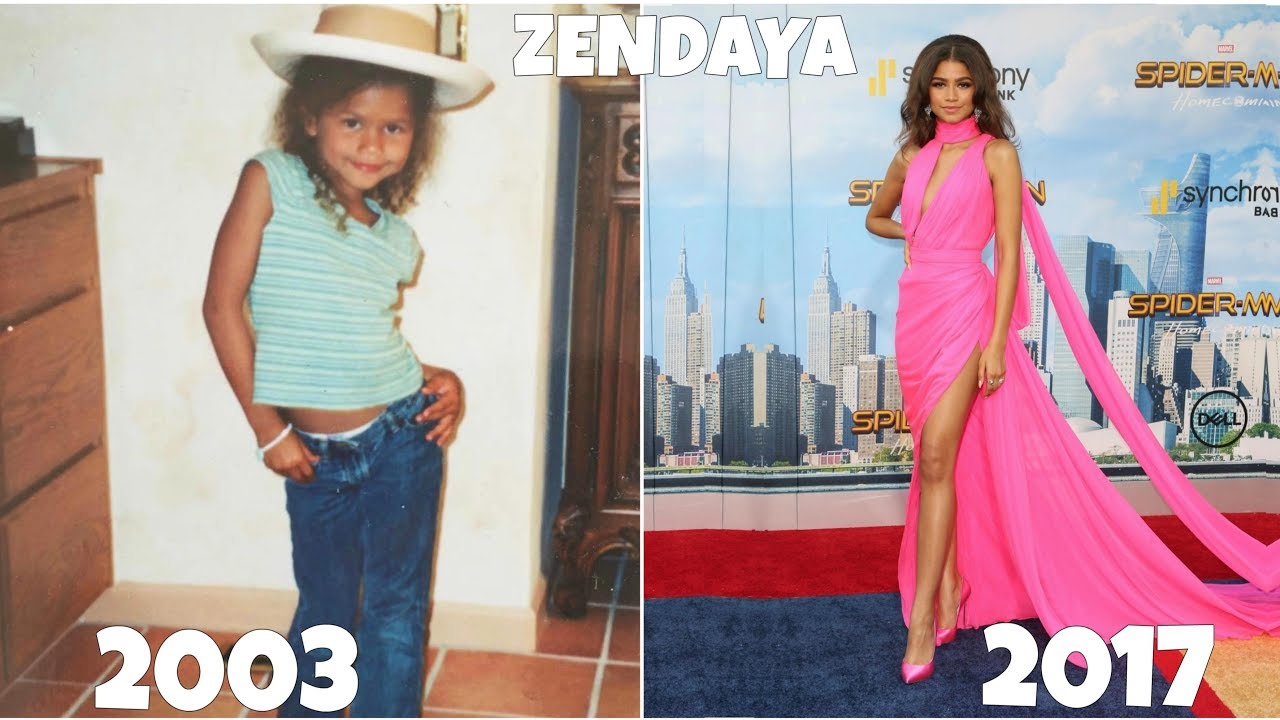 Zendaya from 1 to 20 years old youtube zendaya from 1 to 20 years old stopboris Images