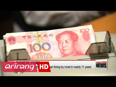 China's central bank raises Yuan fixing by most in nearly 11 years