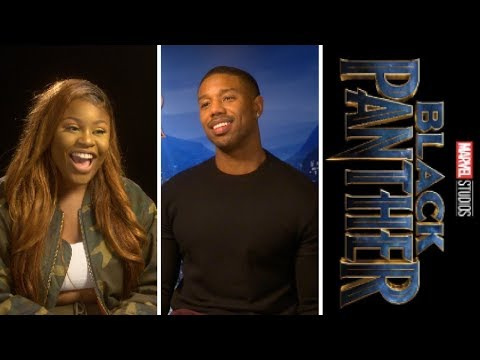 Black Panther: Michael B. Jordan -  Erik KillMonger— Exclusive Interview