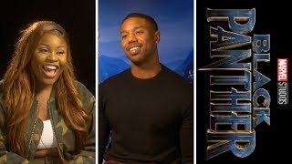 Black Panther: Michael B. Jordan - Erik KillMonger — Exclusive Interview