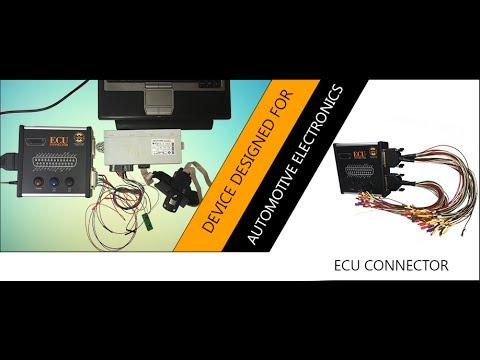 Ecu Connector - CAN Analyzer, Immo off, Ecu repair, Key coding,Dashboard synchro