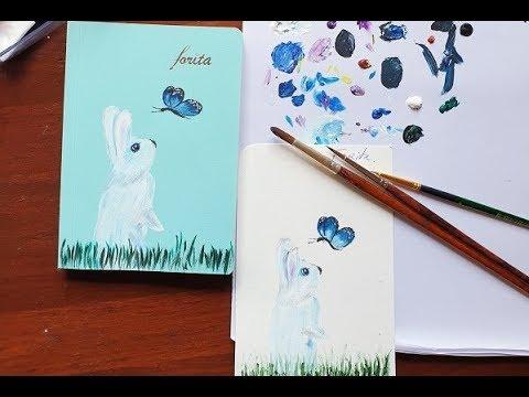Forita – Thỏ Ngọc và Bươm Bướm – Vẽ Trang Trí Sổ Tay Mini