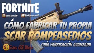 How to Make Your Own SCAR ROMPEASEDIOS in Fortnite Save the World Best Perks