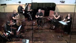 """Pierrot Lunaire pt3.5"" Arnold Schönberg performed by TrioInk, Rachel & Jonathan Krehm & Amelia Lyon"